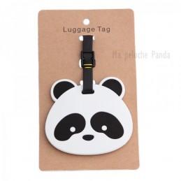 Porte étiquette baguage panda