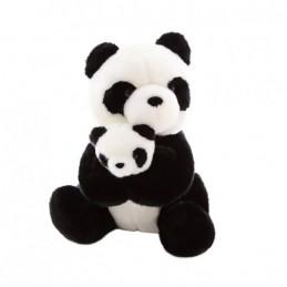 Peluche maman panda