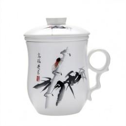 Tasse à thé chinois 3 en 1