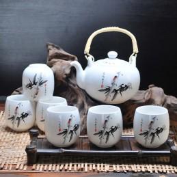 Théière porcelaine Chinoise
