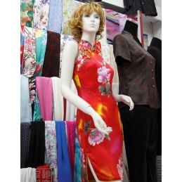 Robe Chinoise soie sur mesure