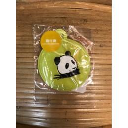 Porte étiquette bagage panda