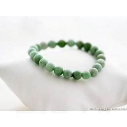 Bracelet petite boule vert pomme