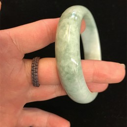Bracelet jonc jade diamètre 59